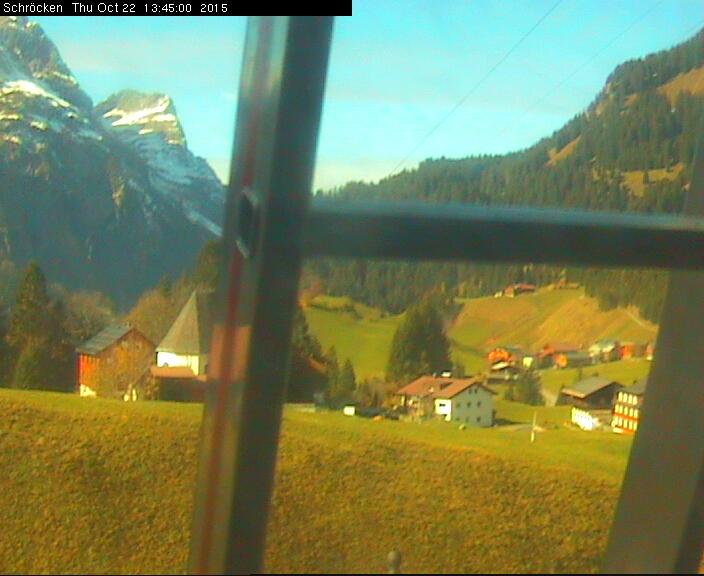 Webcam Schröcken dorpscentrum
